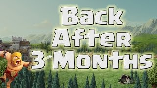 Clash of Clans - Back After 3 Months Break! Barching! Shaving Our Bush