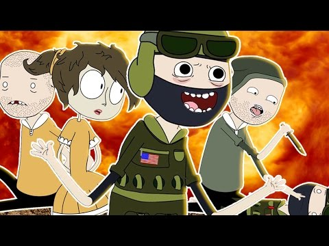 ♪ COUNTER STRIKE THE MUSICAL - CS: GO Song Parody Animation