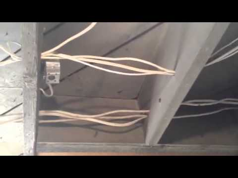 basement wiring mcmillan 2014 youtube rh youtube com Wiring Outlets in Your Basement Wiring a Basement Room