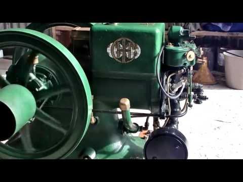 Another Vintage Stationary Engine Movie