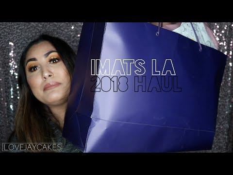 IMATS LA 2018 HAUL  LOVEJAYCAKES