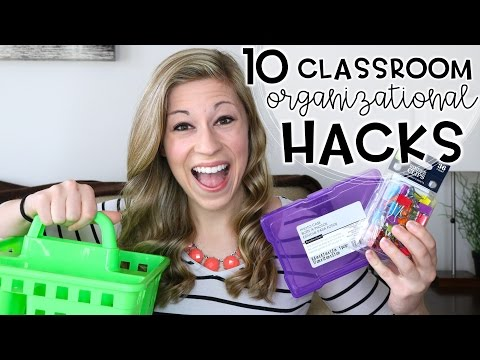 10 Classroom Organizational Hacks | That Teacher Life Ep 49