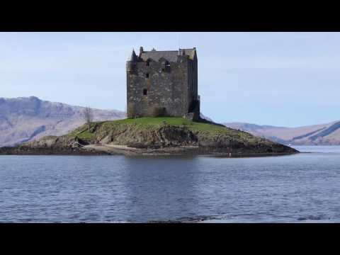 Tour of Scotland - Glasgow to Oban to Glen Etive [4K/UHD]