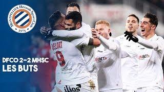 VIDEO: DFCO 2-2 MHSC : Les BUTS