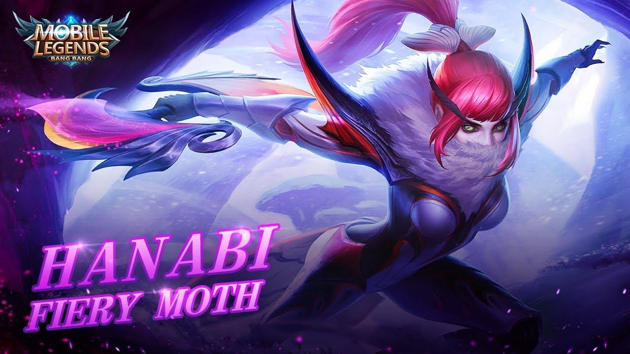 Hanabi new skin | Fiery Moth | Mobile Legends: Bang Bang!