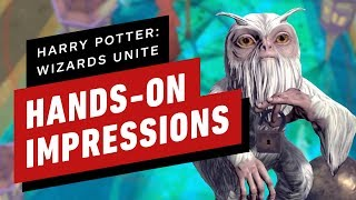 How Harry Potter: Wizards Unite Builds Off of Pokemon Go