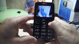 Сотовый телефон Alcatel OT-2008G . Видеообзор.