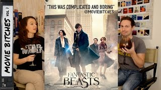 """""""Fantastic Beasts and Where to Find Them"""" Movie Review - MovieBitches Ep 128"""