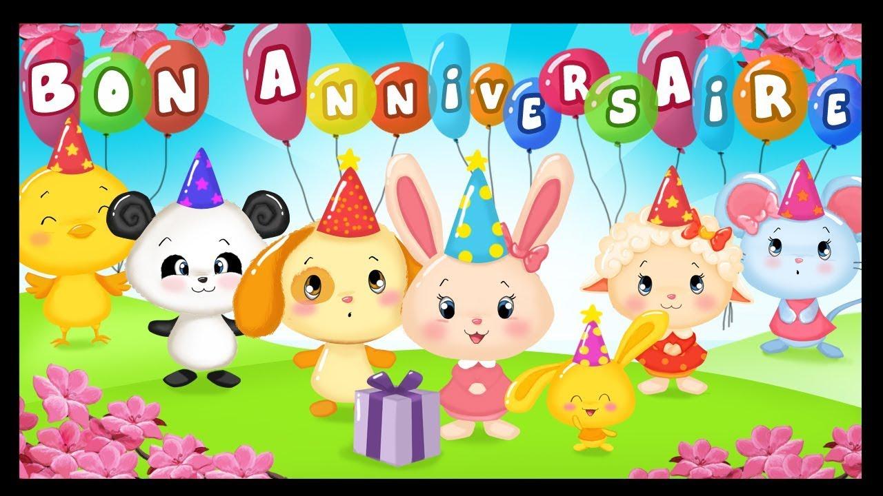Joyeux Anniversaire Happy Birthday Chansons Et Danse Titounis
