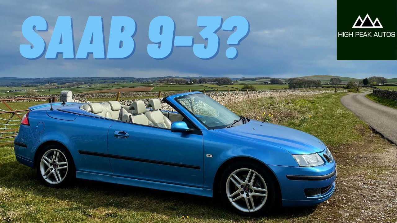 Should You Buy a SAAB 9-3 CONVERTIBLE? (Test Drive & Review 2006 1.9TiD)