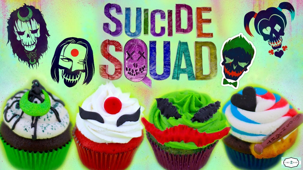 Suicide Squad Cupcakes Youtube