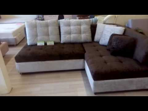 Диван Мальта аккордеон мебельной фабрики Константа - YouTube
