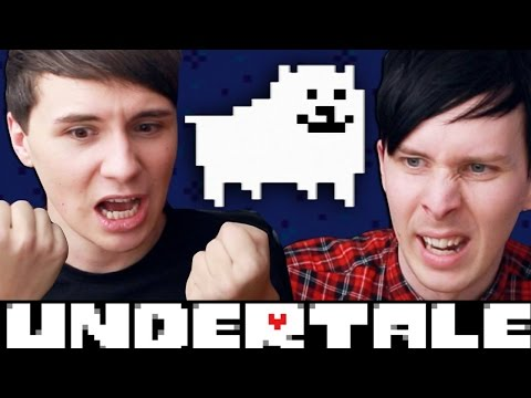 THE ANNOYING DOG - Dan and Phil play: Undertale #4