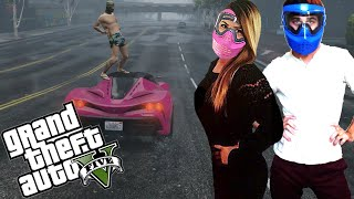 HUMP DANCE | Grand Theft Auto 5 Funny Moments | Gay Trolling | Girl Gamer Rage