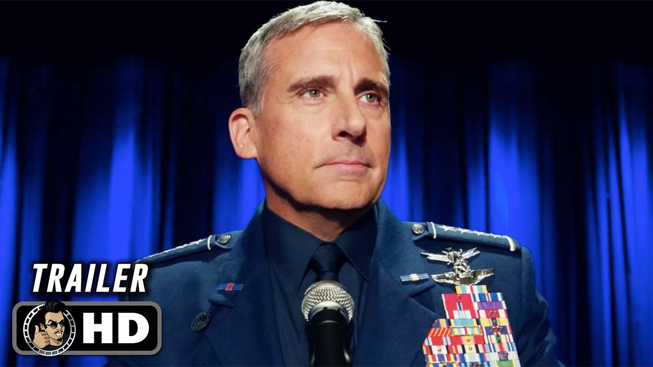 SPACE FORCE Official Trailer (HD) Steve Carrell