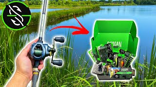 Attempting the ULTIMATE Googan Bass Fishing Slam!! (Signature Pond Box)