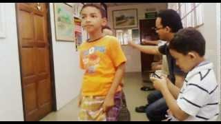 Repeat youtube video Ucop, Adam, Hakim, Aiman sunat dekat Kampung Merdeka
