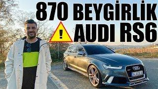 870 Beygirlik Audi RS6 Performance