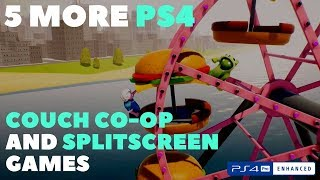 5 Great PS4 Couch Co-Op and Splitscreen Games