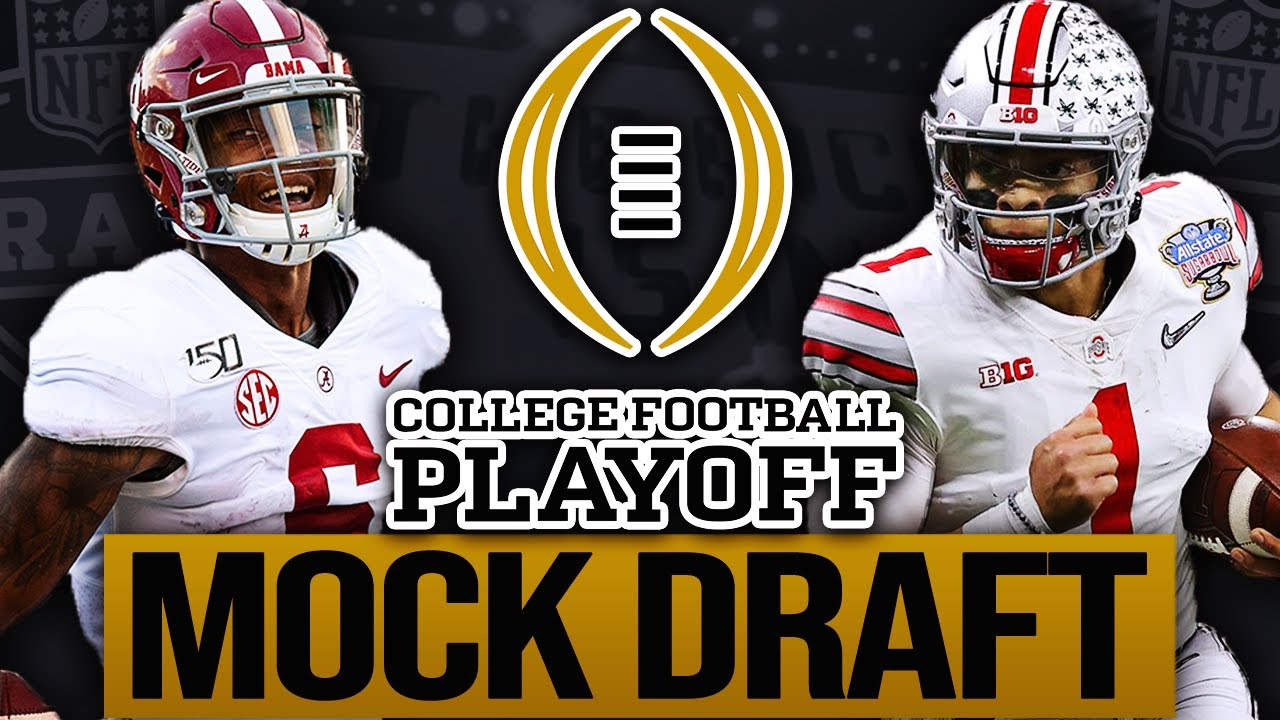 2021 NFL Mock Draft! College Football Playoff Edition!