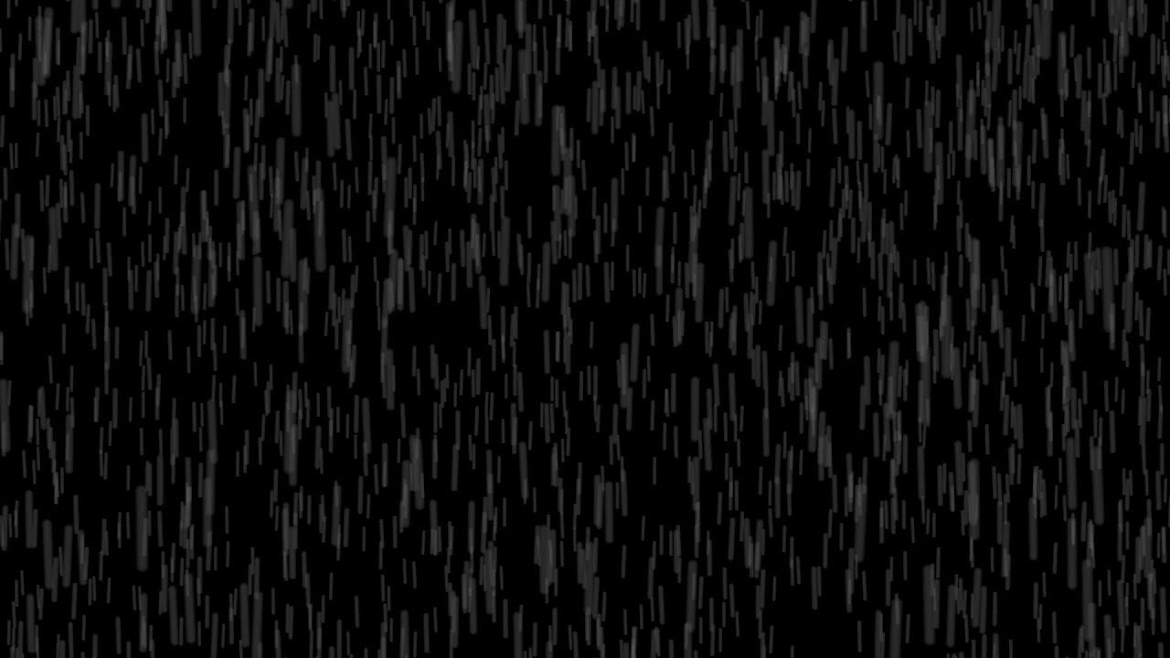 Rain overlay video effect  / Free for commercial use Full HD CC0