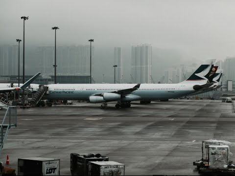 Cathay Pacific A340-300 Flight Experience: CX718 Jakarta to Hong Kong