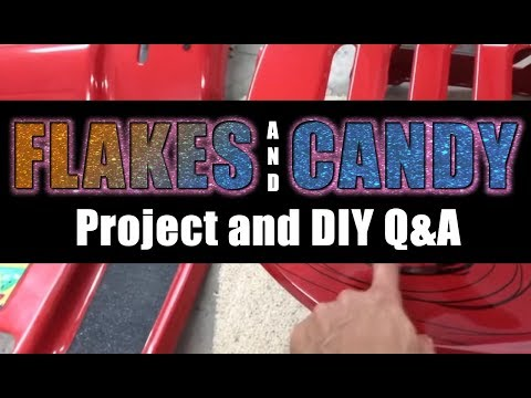 Auto Body - Flake and Candy Paint Project and DIY Q&A