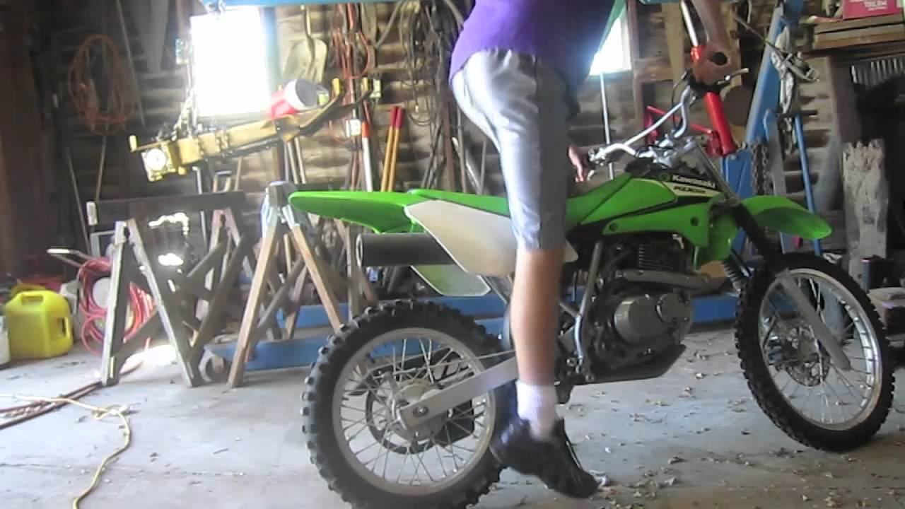 2006 Kawasaki Klx 125 Walk Around Youtube