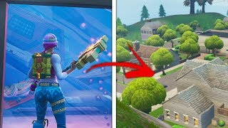 *NEW* Get Inside GREASY GROVE Glitch! (How Glitch into Greasy Grove in Fortnite Season 8)