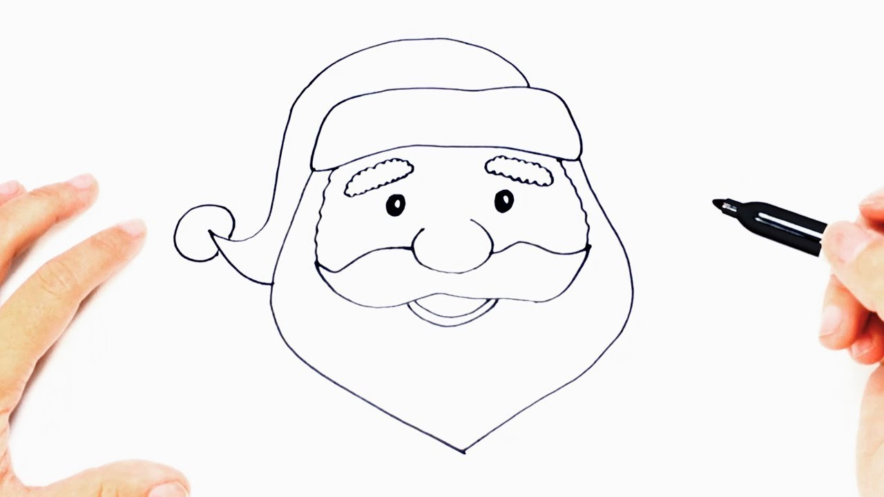 How to draw a Santa Claus Step by Step
