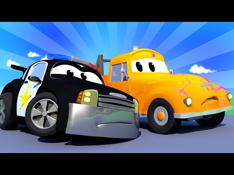 Car Patrol -  Some is Speeding in Car City! - Car City ! Police Cars and fire Trucks for kids