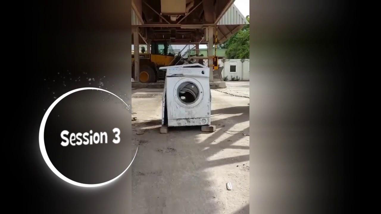 waschmaschine vs stein washing machine vs stone youtube. Black Bedroom Furniture Sets. Home Design Ideas
