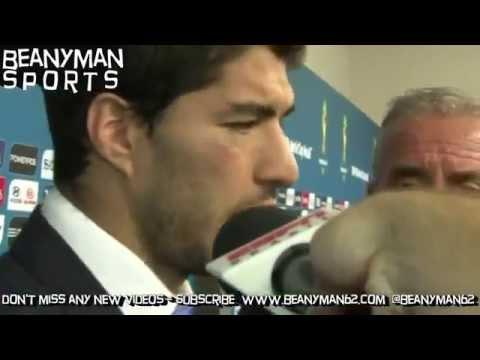 Luis Suarez Speaks Out After Biting Giorgio Chiellini!