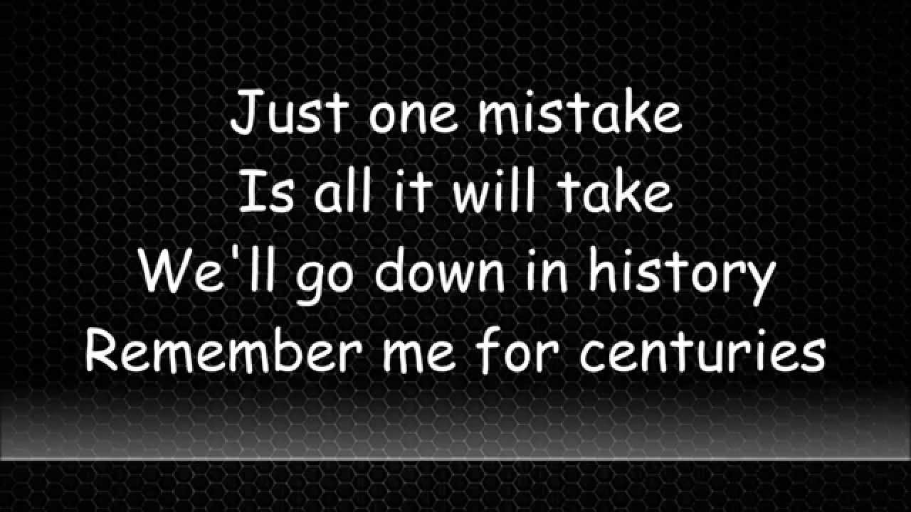 Centuries Fall Out Boy Lyrics Video Youtube