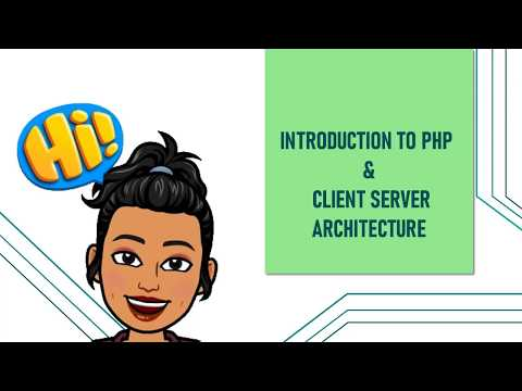 PHP || Client Server Architecture || 12TH STD Computer Applications || CHAPTER -4