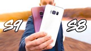 Samsung Galaxy S9 vs Galaxy S8 !