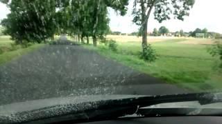 Mazda 3 windshield washer nozzle mist at 140 KPH