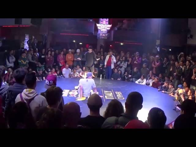 Ibra vs Kacyo - Red Bull BC One Italy Cypher 2015