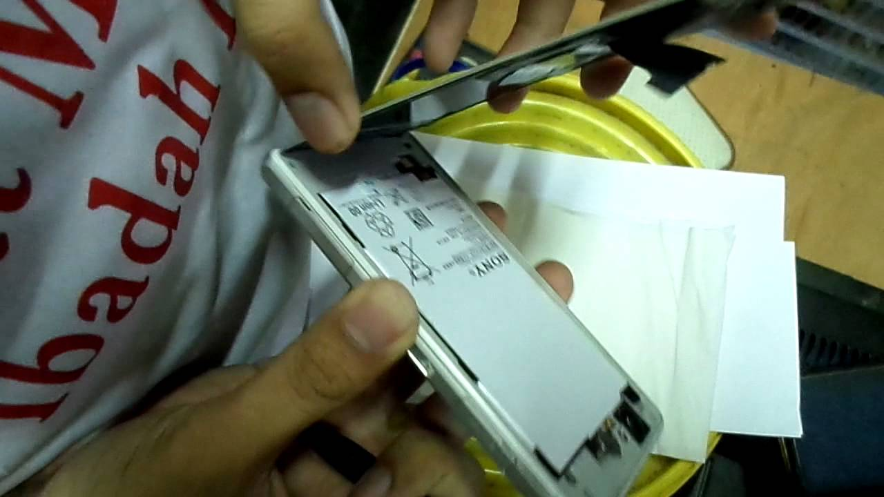 Tutorial Mengganti Baterai Sony Xperia Z1 Compact Youtube