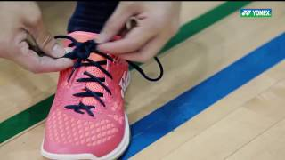 Lee Yong Badminton Tips - How to tie your shoelace