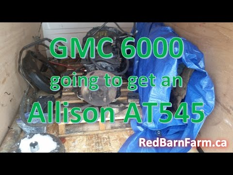 gmc 6000 / allison at545 automatic transmission talk
