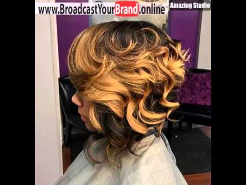 Twotone Curly Bob For Black Women Youtube