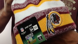 Redskins  ARMY CAMO PRINT-PLAY  Knit Beanie Hat by New Era - YouTube e2062d289