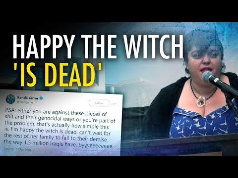 Prof 'Happy The Witch' Barbara Bush 'Is Dead' | Campus Unmasked