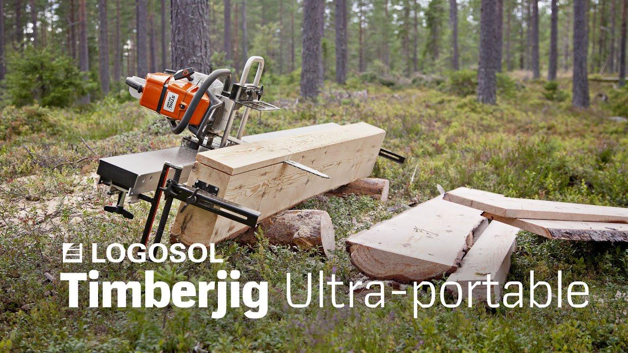 Logosol Timberjig chainsaw sawmill | Davies Implements