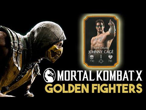 Mortal Kombat X Mobile - Golden Fighters unlocked (Huntah Replay iOS  Gameplay)