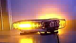 1 watt high power amber mini light bar