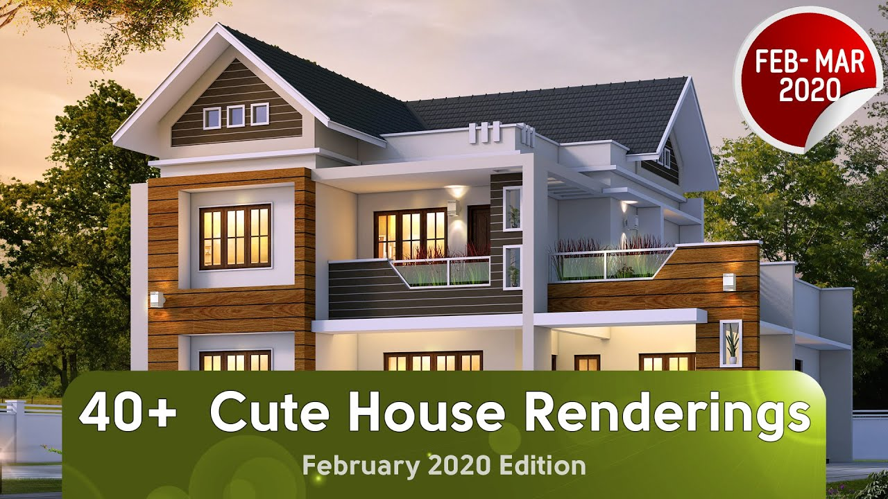 40 Best Handpicked House Renderings Of February 2020 Youtube