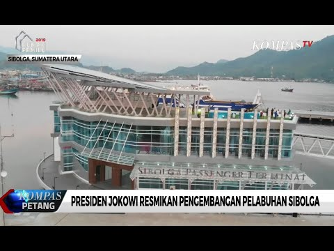 Jokowi Resmikan Pengembangan Pelabuhan Sibolga