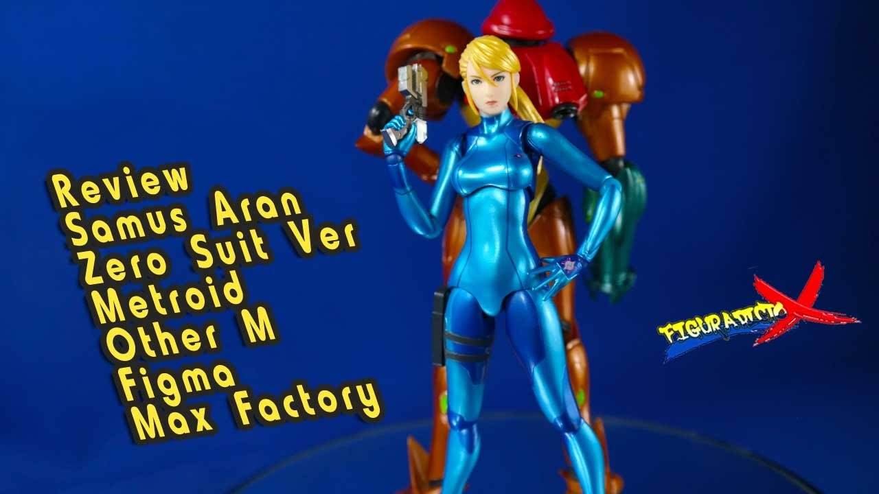 USED figma METROID Other M Samus Aran Figure Max Factory